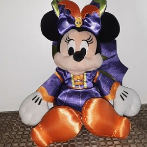 "Disney Store Minnie Mouse 15"" Halloween"